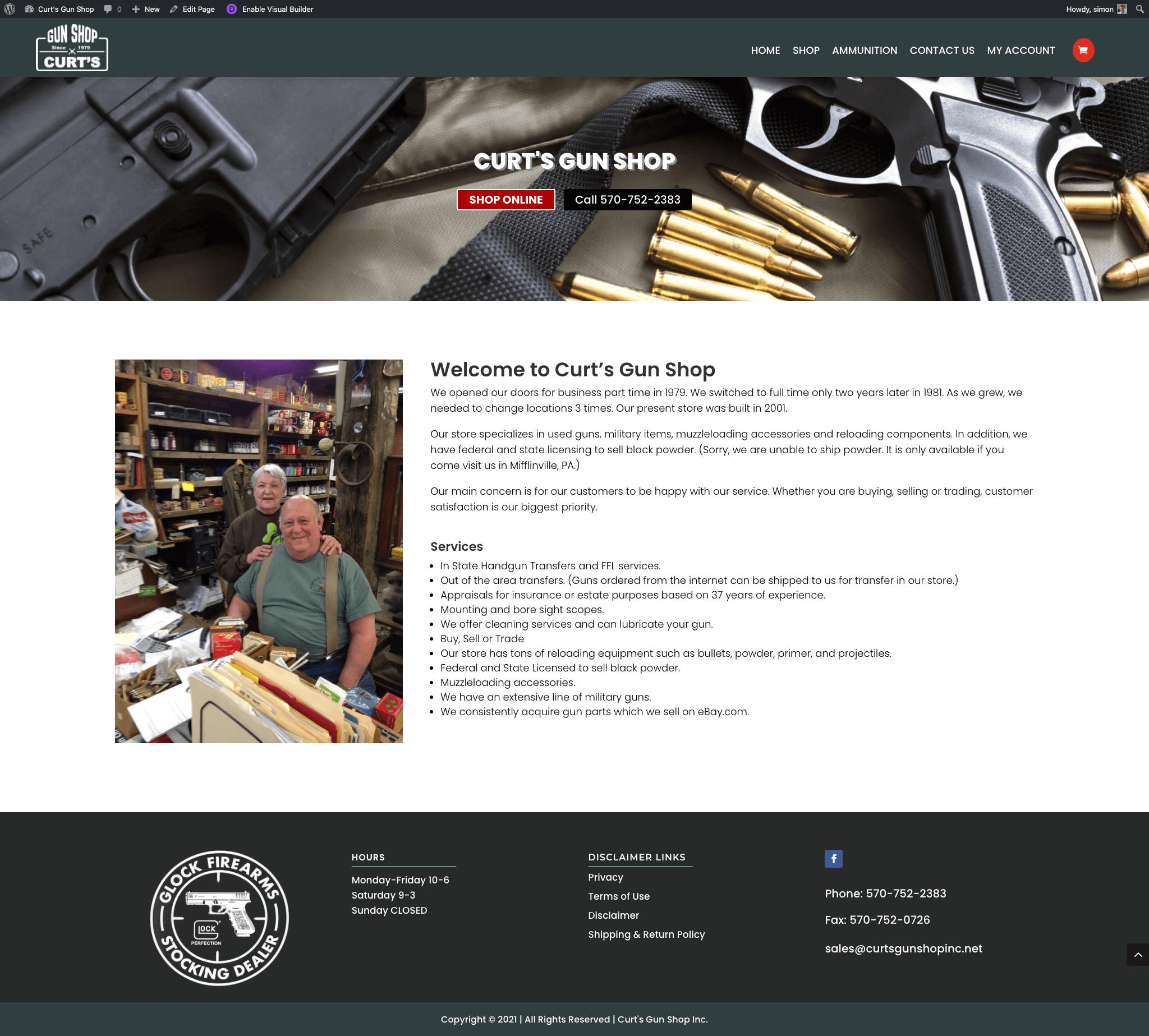 Curts Gun Shop